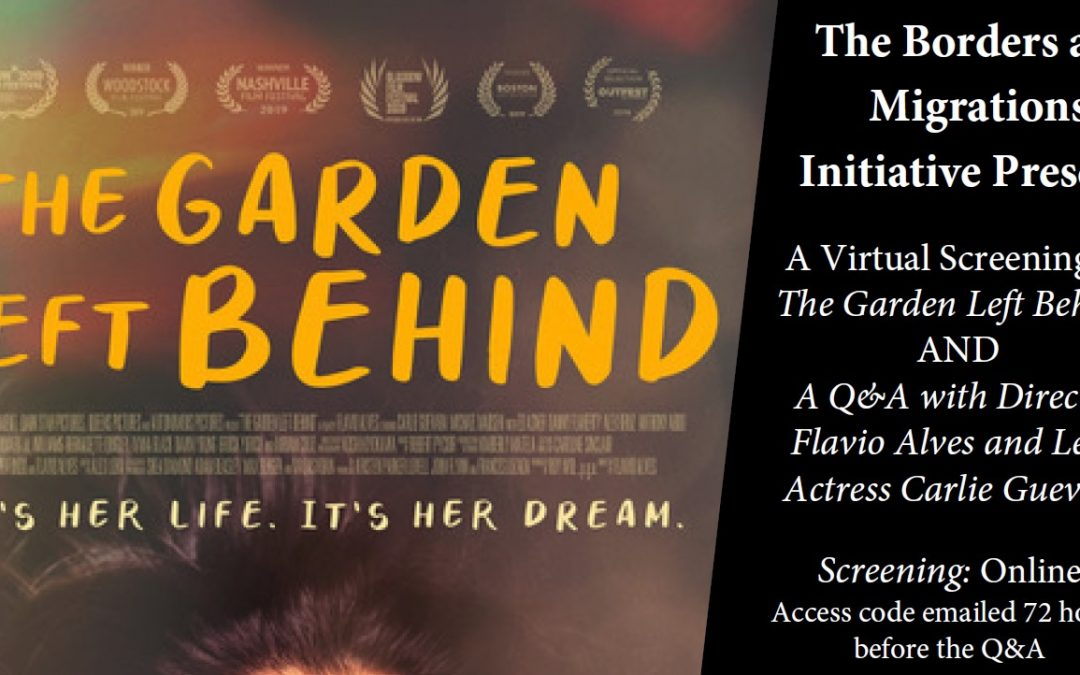 October 2020: The Garden Left Behind