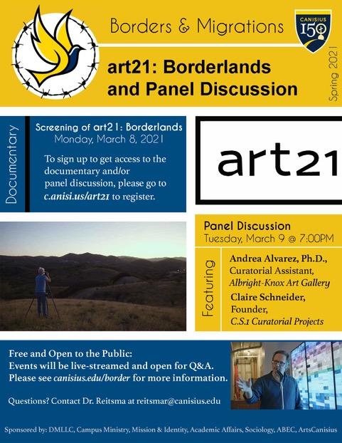 art21: Borderlands Panel Discussion