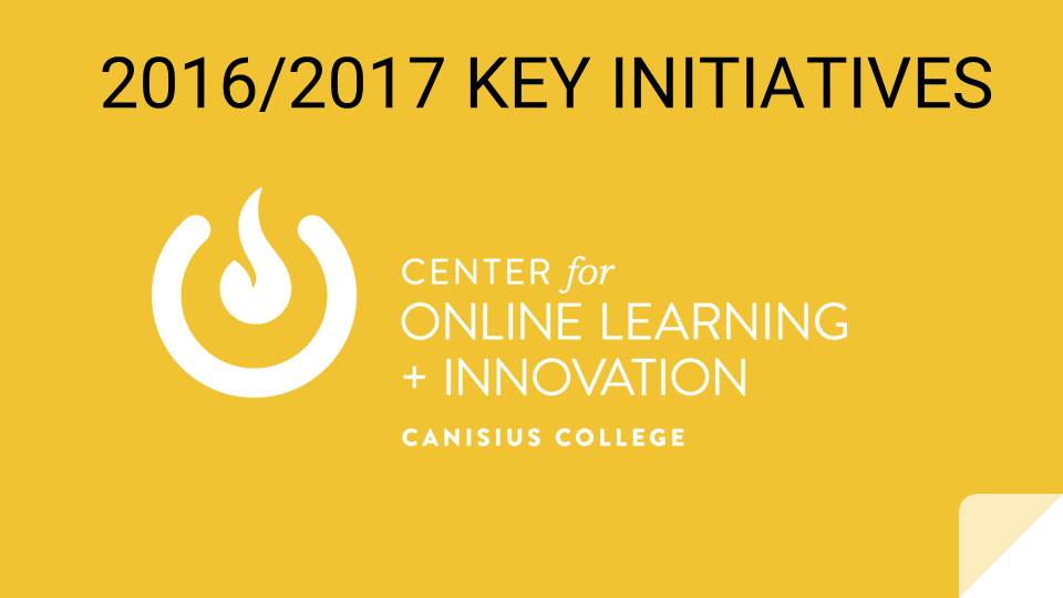 COLI 2016/2017 Key Initiatives