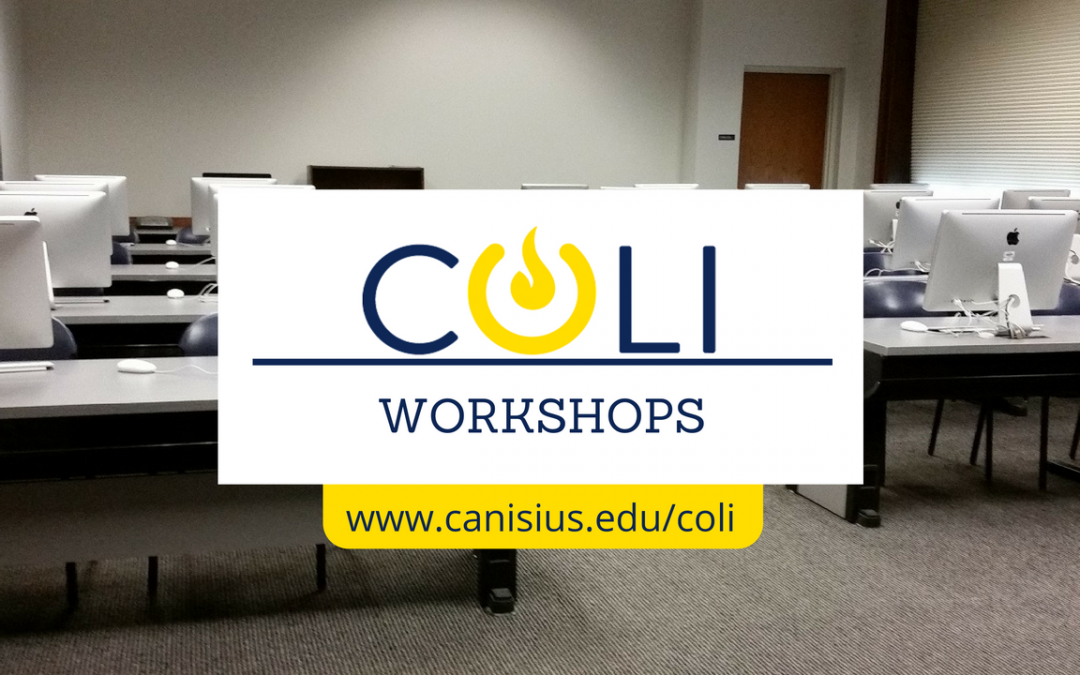 Fall Workshops: Screencasting, Google Drive, & Google Cardboard