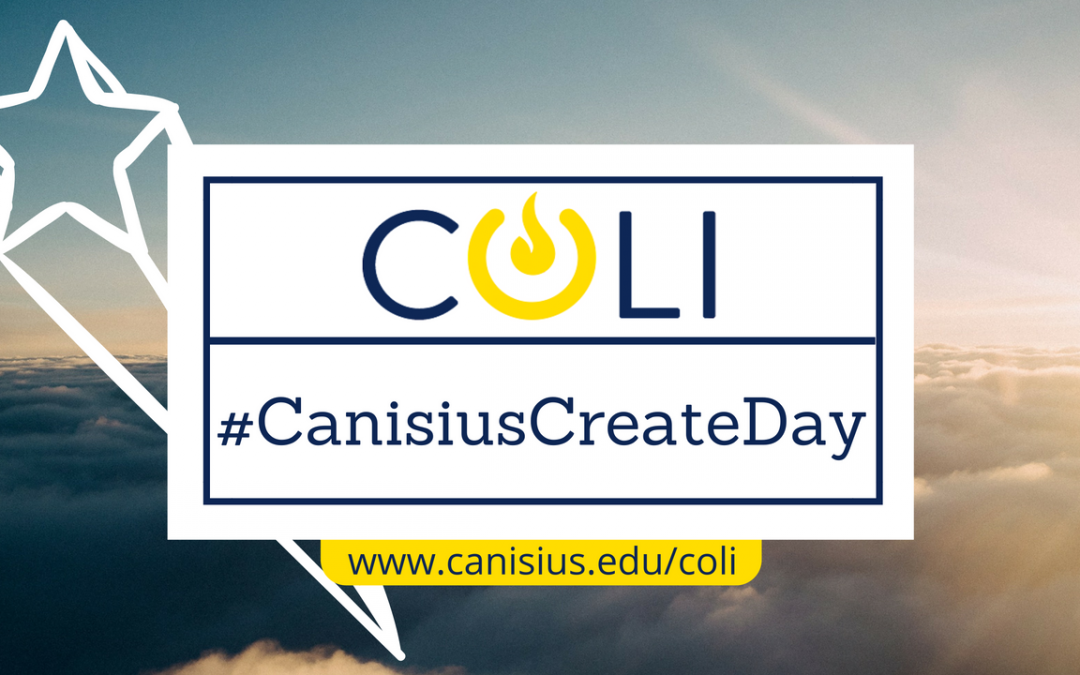 Join us on Oct. 11 for #CanisiusCreateDay