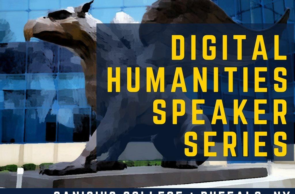 Digital Humanities Speaker Series: Dr. Erin Warford!  March 23