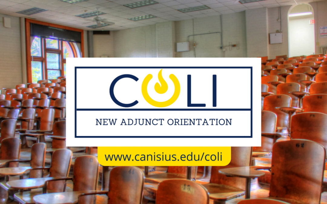 Adjunct Orientation Session