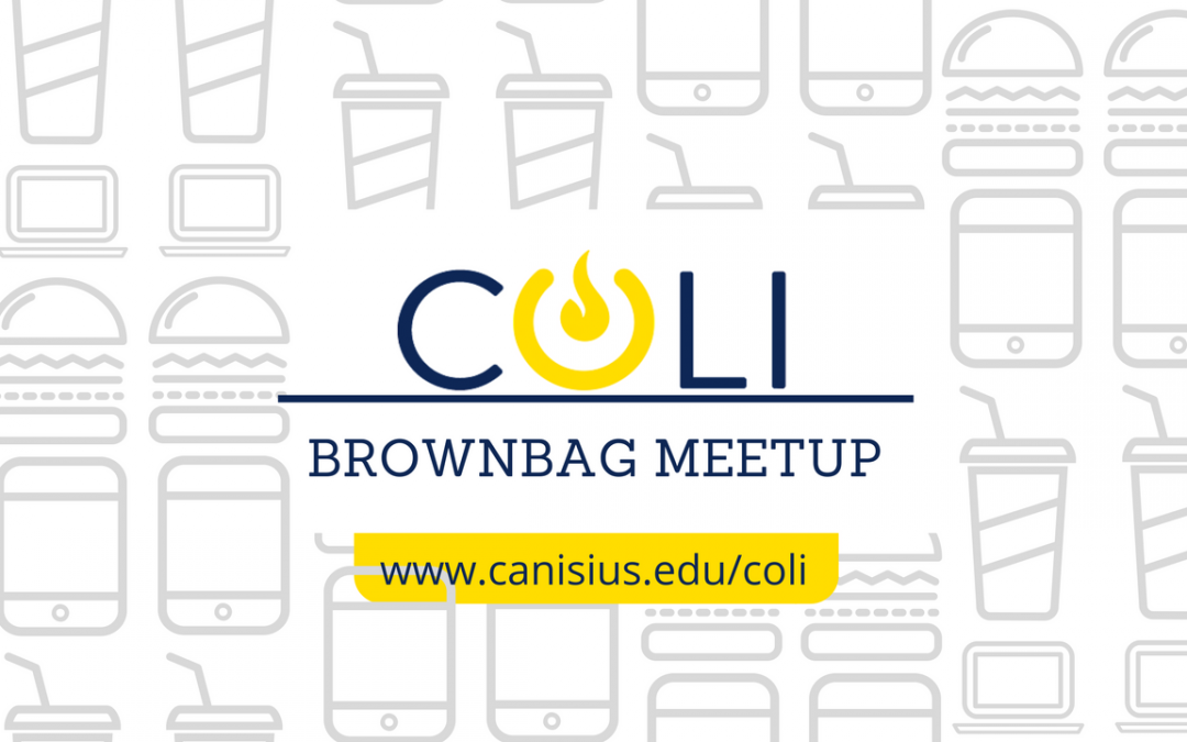 COLI Brownbag Meetup: November 1st