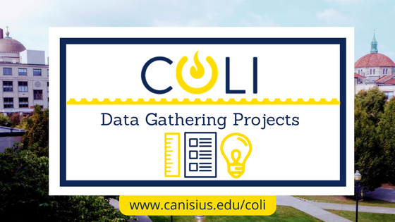 COLI Tutorials: Data-Gathering Projects