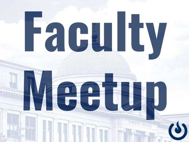 Cancelled: Faculty Meetup, April 30th, 5:30-7:30 PM: Online & Hybrid Teaching
