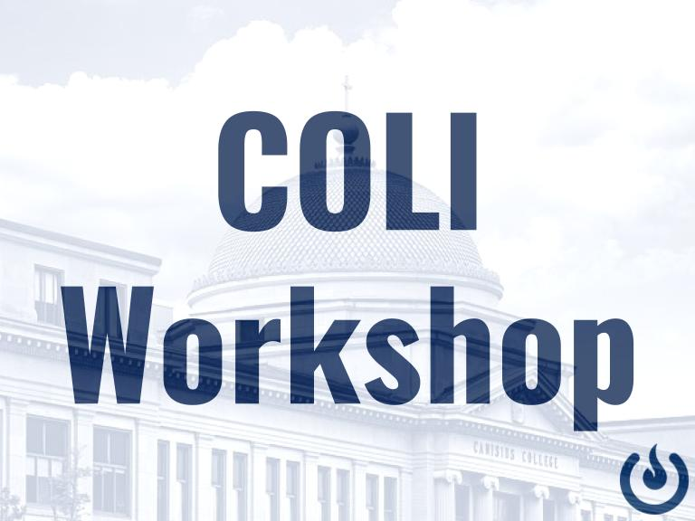 COLI Workshop: Google Sites