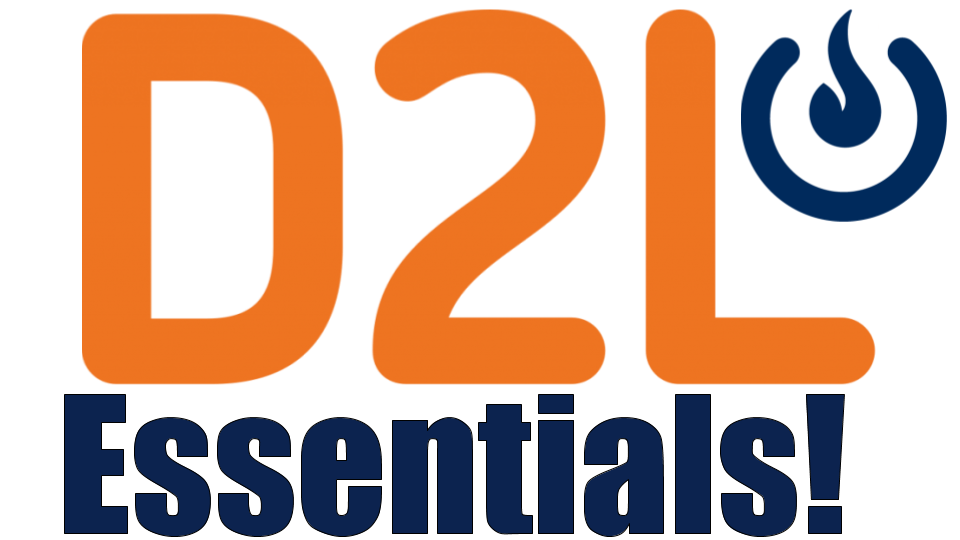 Workshops: D2L Essentials