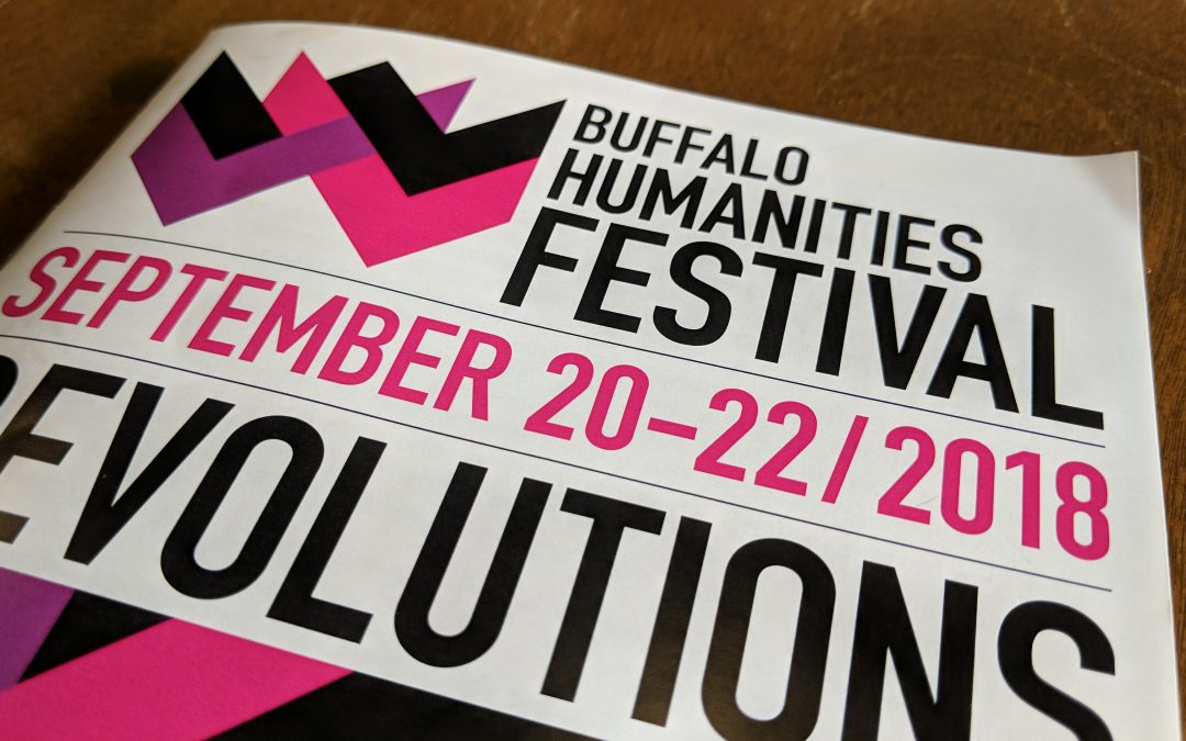 COLI at the Buffalo Humanities Festival!