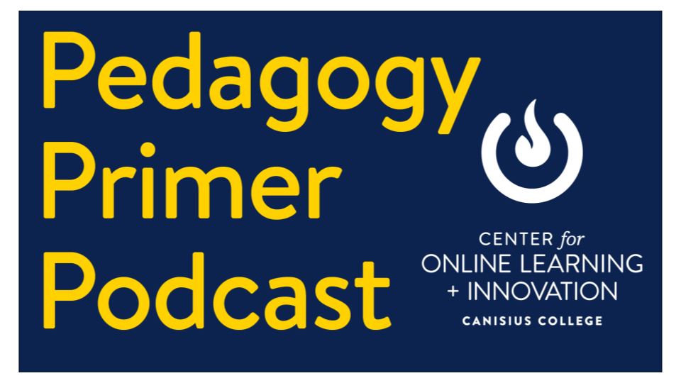Pedagogy Primer Podcast: Episode 4