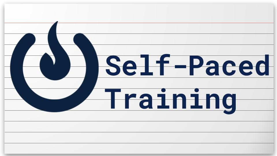 COLI Self-Paced Training Resources