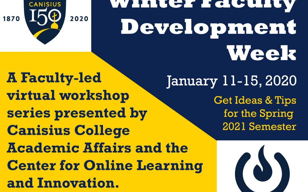 Winter Faculty Development Week