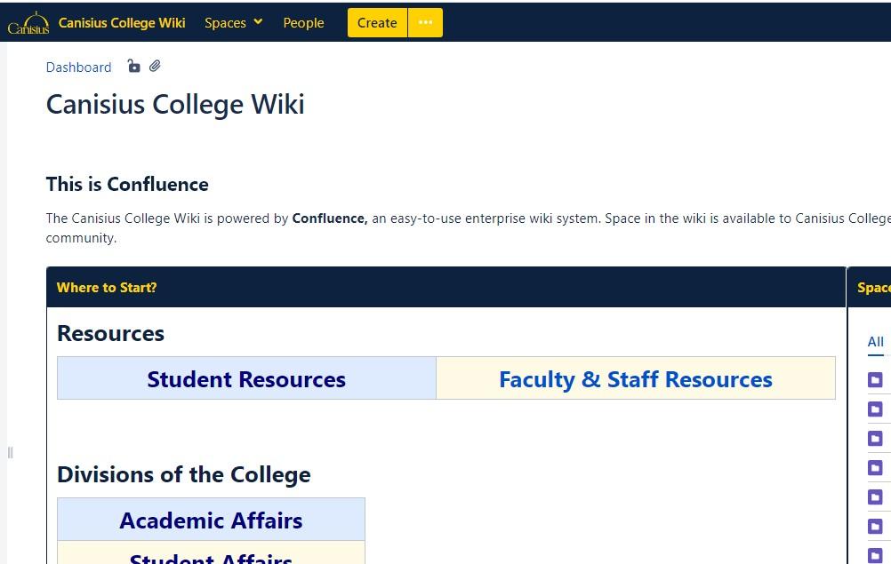 Canisius College Wiki