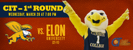 Griffs vs Elon at the KAC. March 20th at 7 p.m.
