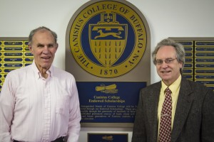 Paul Sauer (left) and Edward Garrity