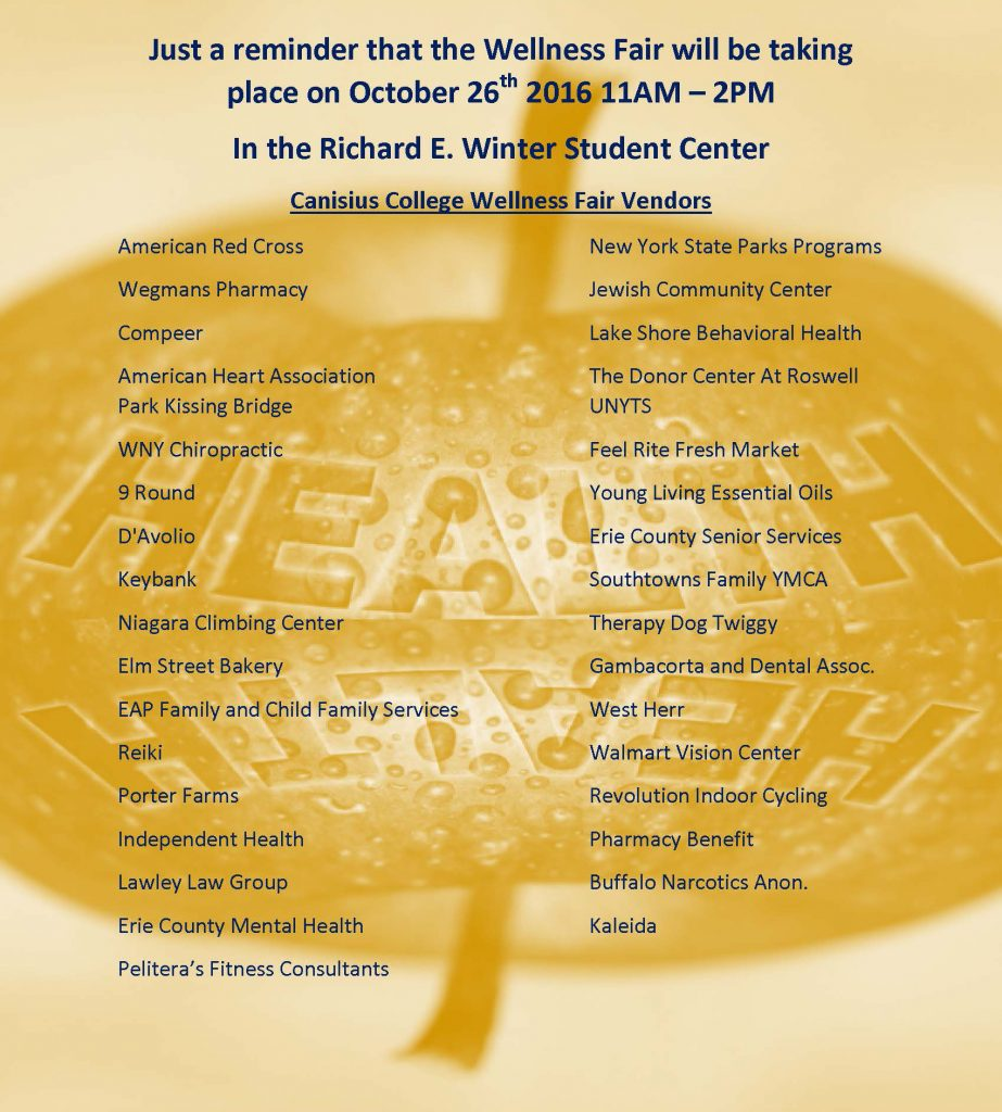 Vendor Wellness Fair