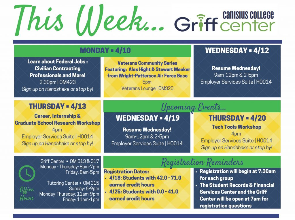 This Week in the Griff Center 4_10 (1)