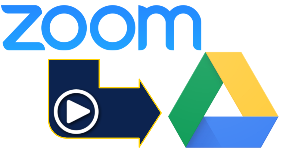Save Your Zoom Video Recordings to Google Drive | The Dome