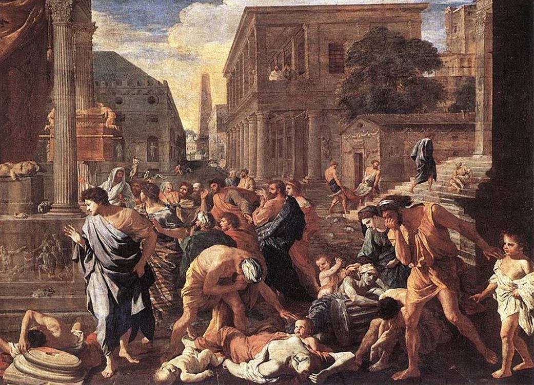 The Plague at Ashdod by Angelo Caroselli (1630).jpg