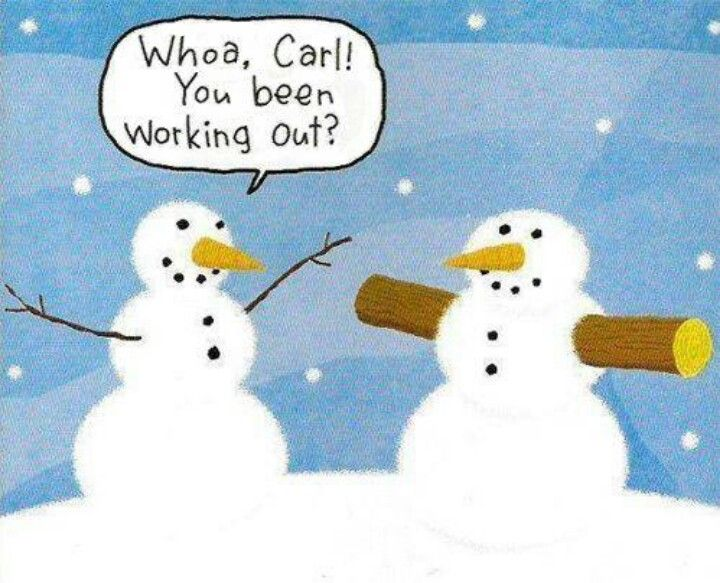 Snowmen working out.jpg