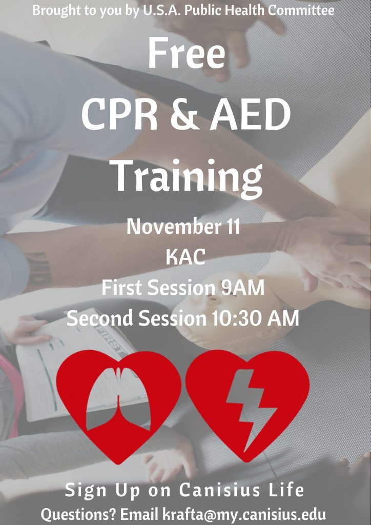 Free Cpr Aed Training And Certification Sign Up Here Today