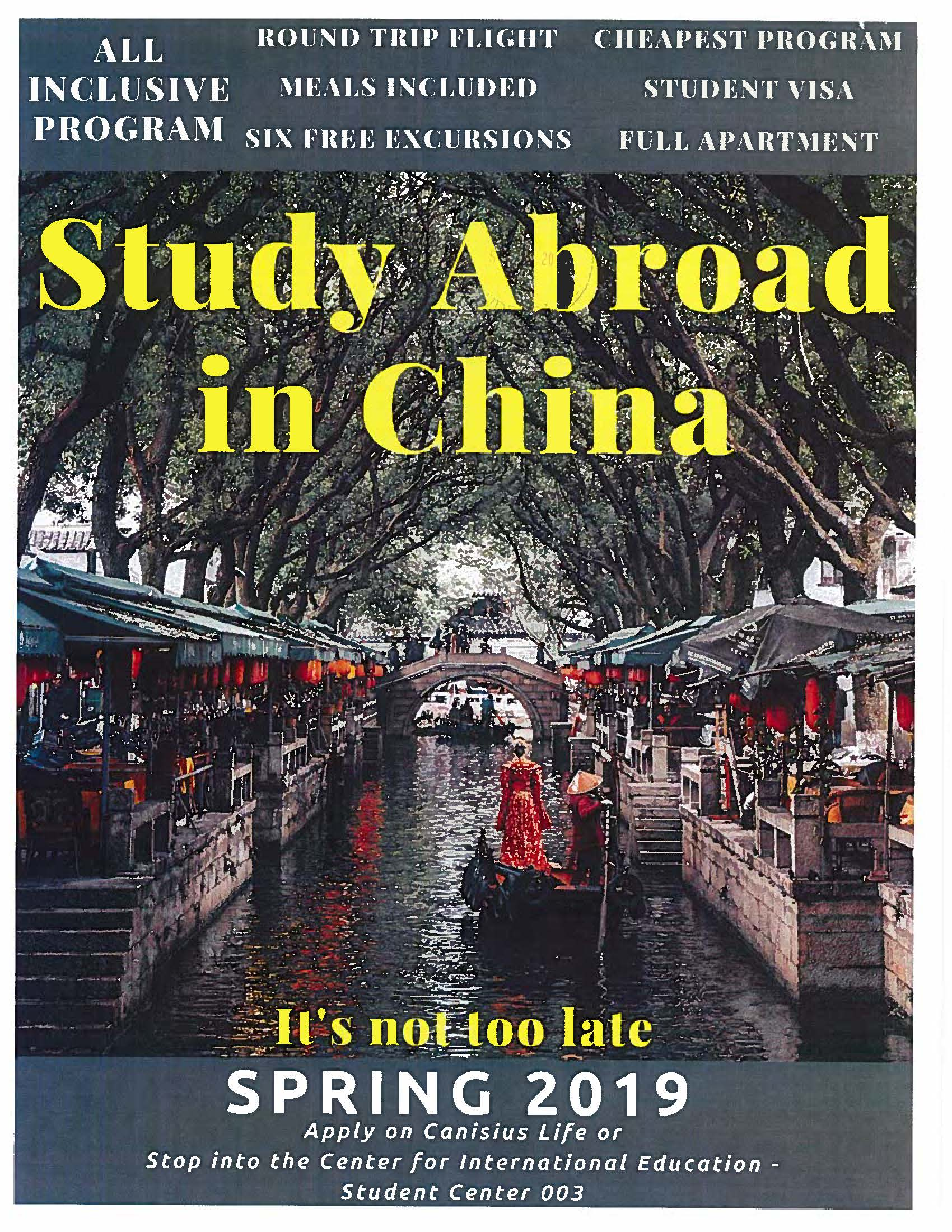Study Abroad in China Spring 2019 | Today@Canisius