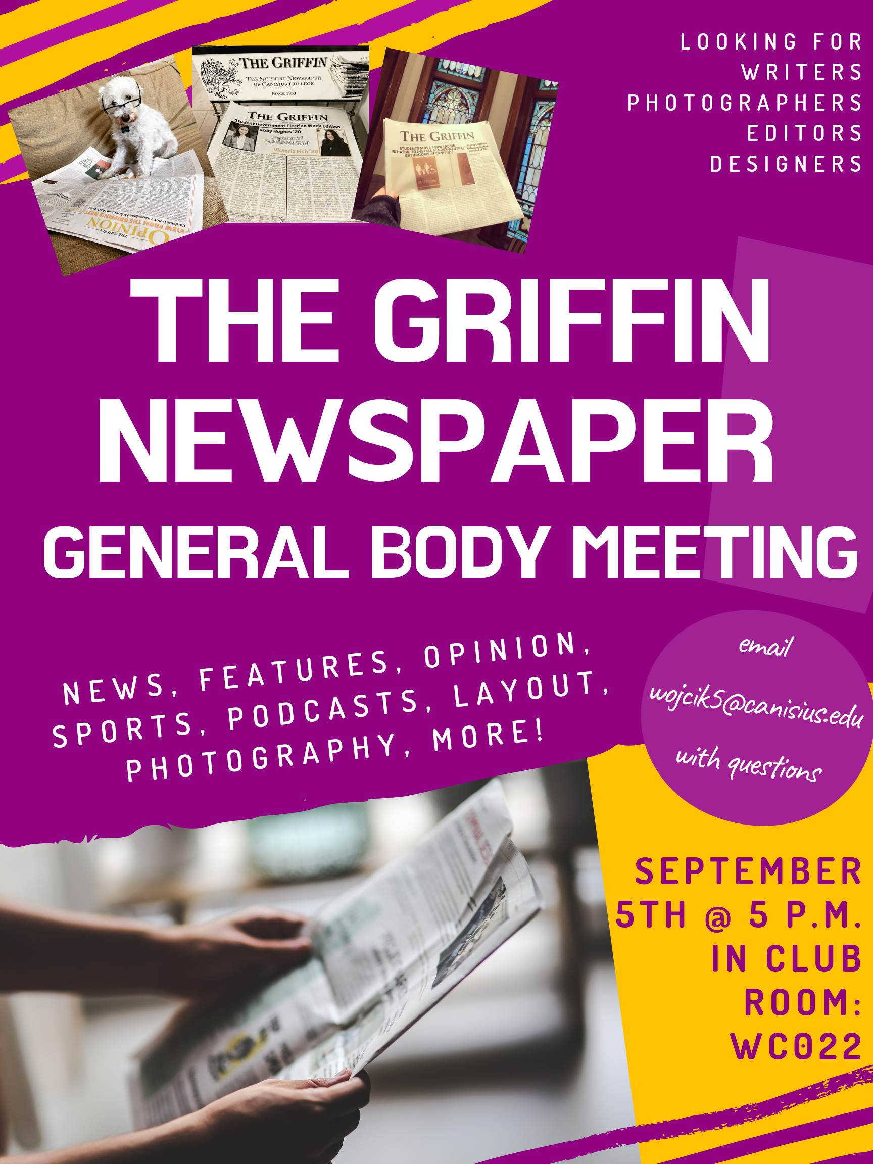 The Griffin Newspaper GB Meeting.png